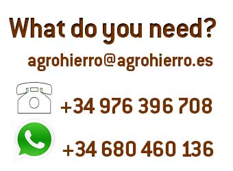 Contact AgroHierro +34976396708 +34680460136