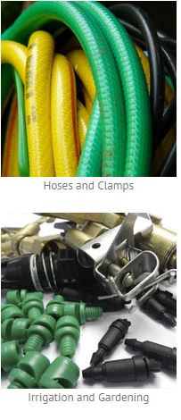Hoses, Clamps, Irrigation and Gardening