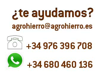 Contacto AgroHierro 976396708 680460134